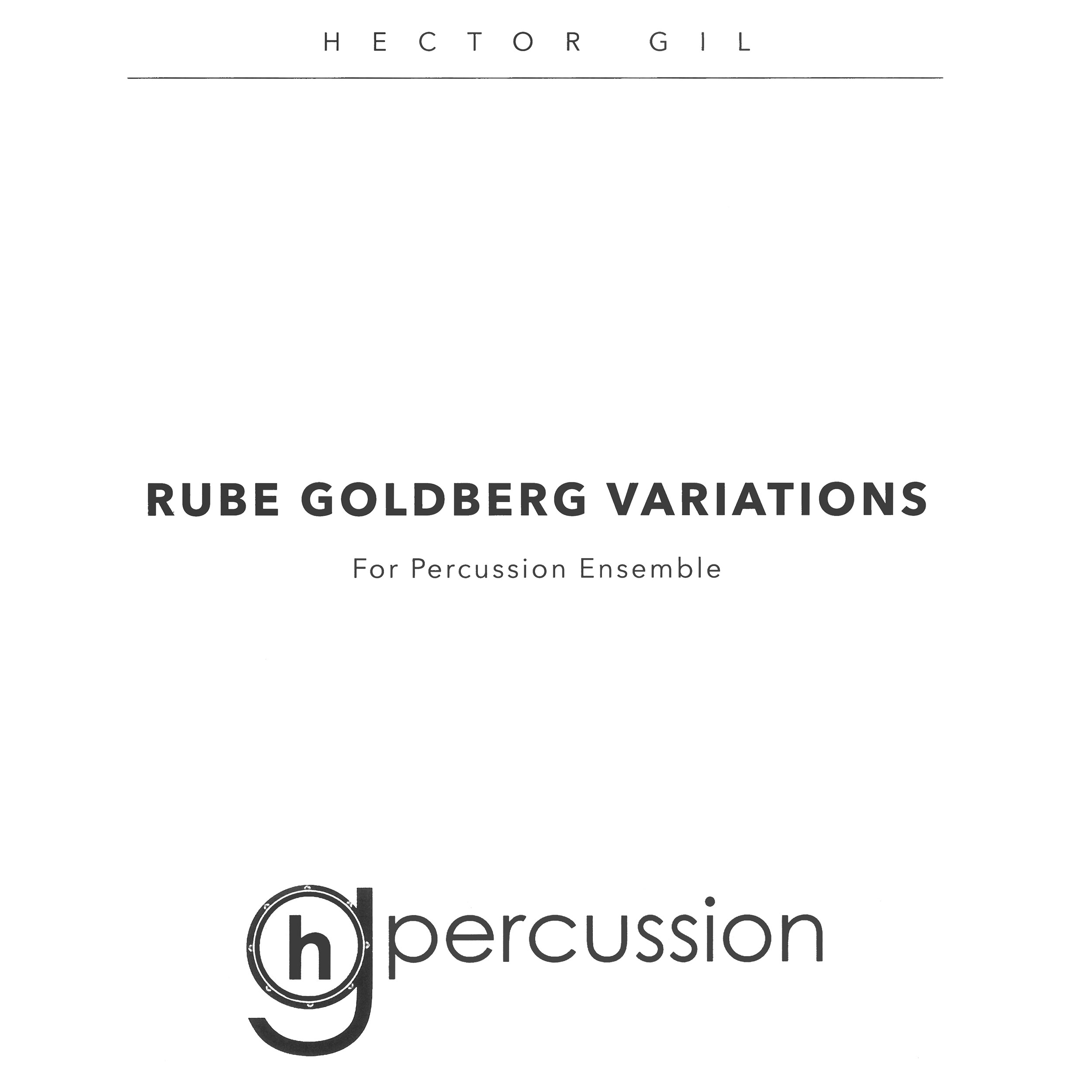 Rube Goldberg Variations by Thank You Scientist arr. Hector Gil