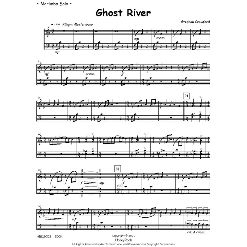 Ghost River by Stephen Crawford