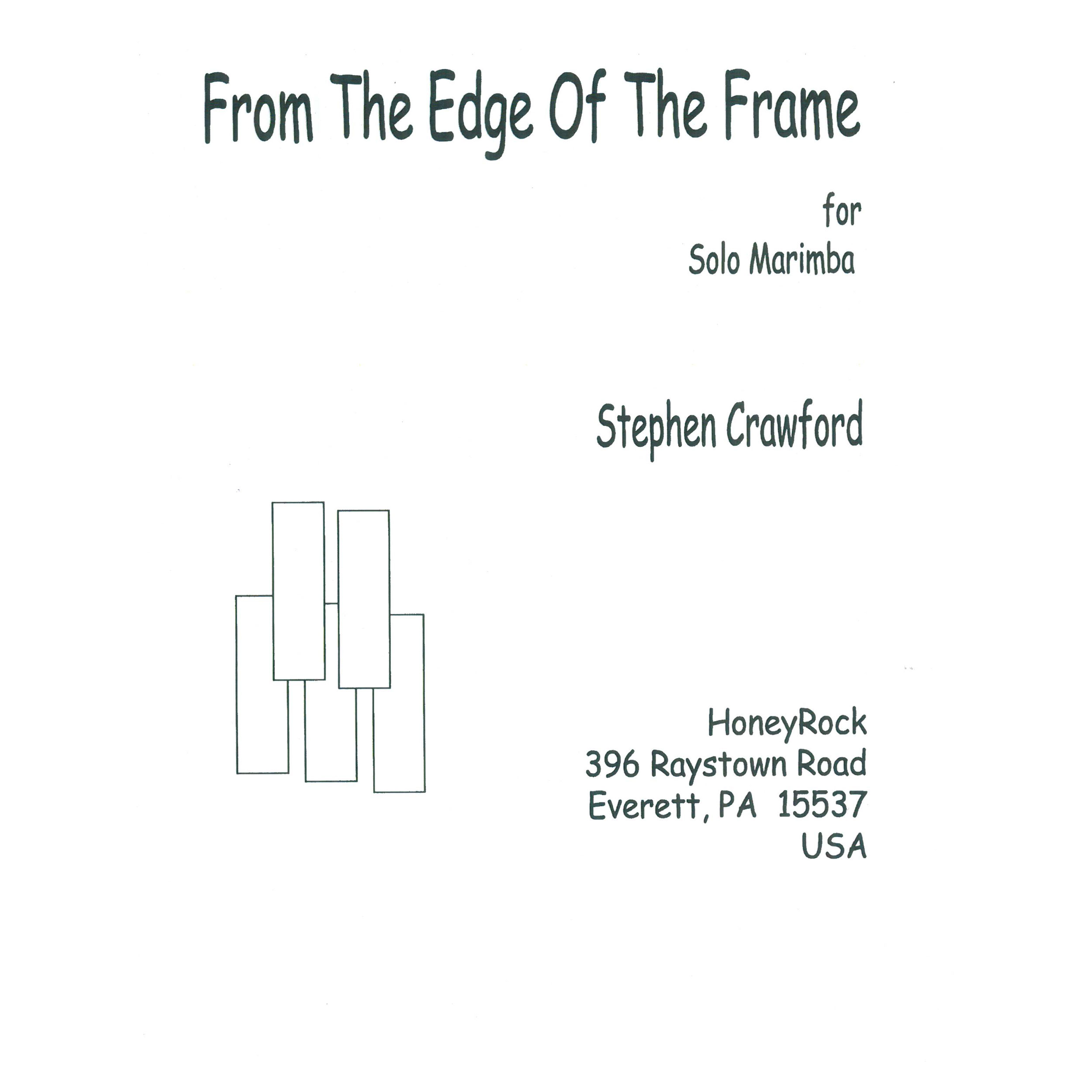 From the Edge of the Frame by Stephen Crawford