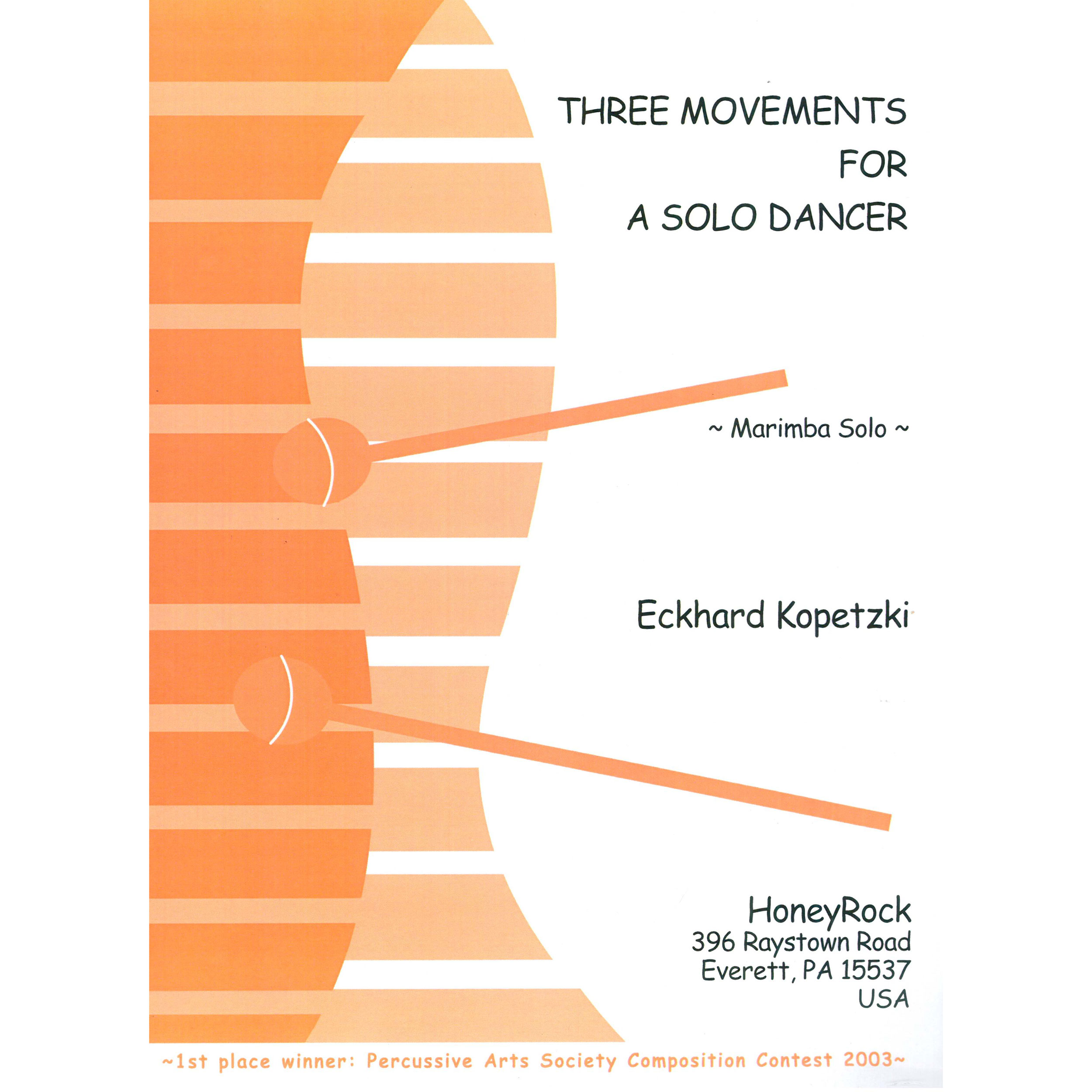 Three Movements for a Solo Dancer by Eckhard Kopetzki