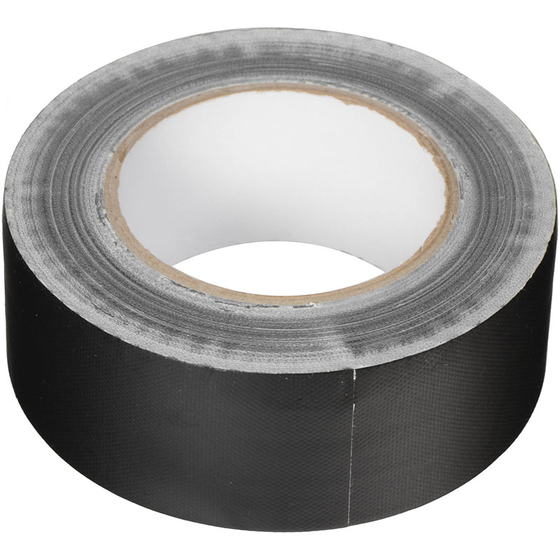 "Hosa 2"" Black Gaffer Tape (30 Yards)"