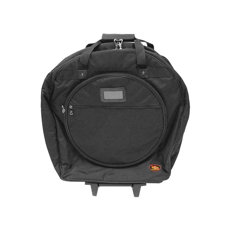 "Humes & Berg 22"" Tilt and Pull Galaxy Cymbal Bag with Padded Dividers"