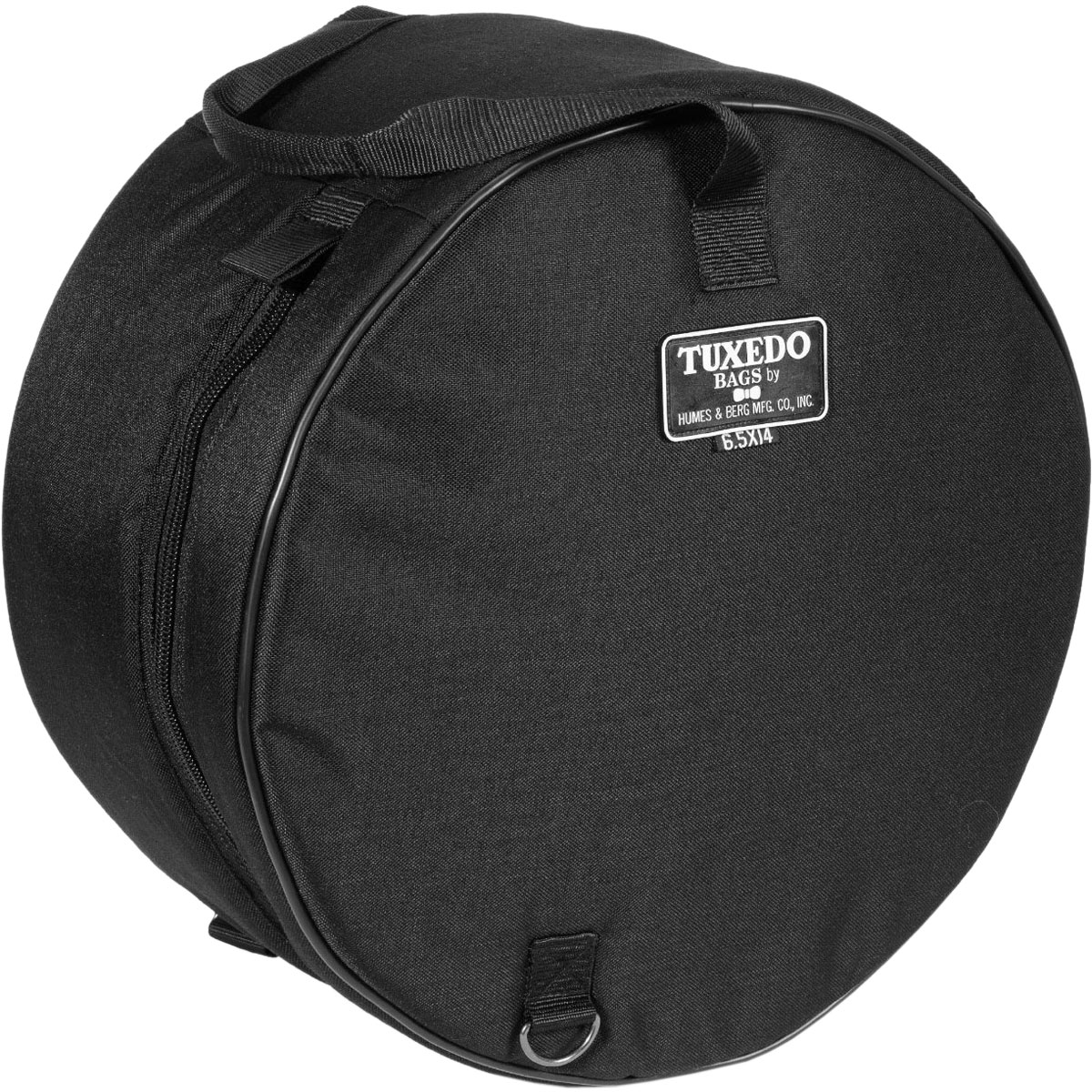 "Humes & Berg 6.5"" (Deep) x 14"" (Diameter) Tuxedo Snare Bag/Soft Case"