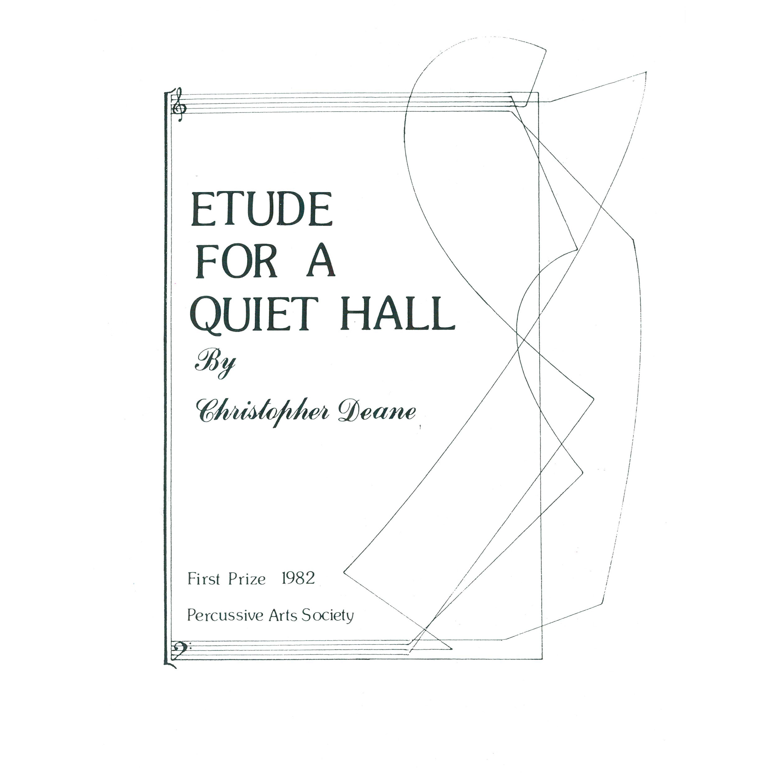 Etude for a Quiet Hall by Christopher Deane