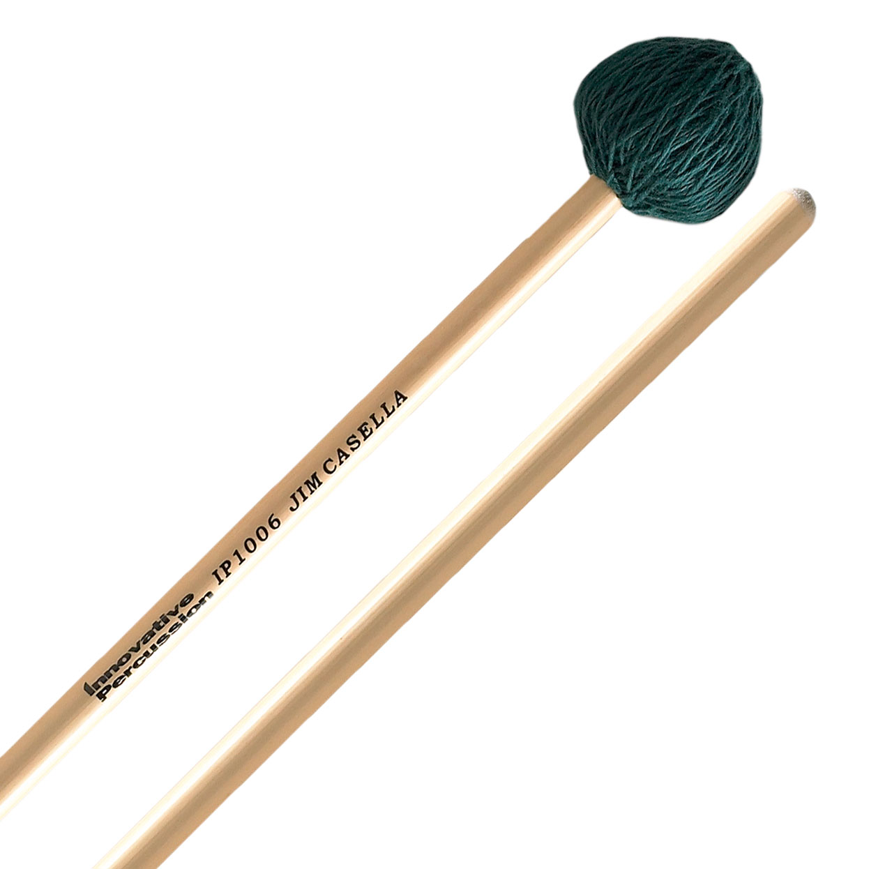 Innovative Percussion IP1006 Jim Casella Hard Vibraphone Mallets with Rattan Handles