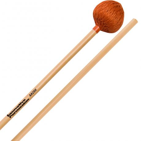 Innovative Percussion AA25H Rattan Series Heavy Medium Marimba/Vibraphone Mallets