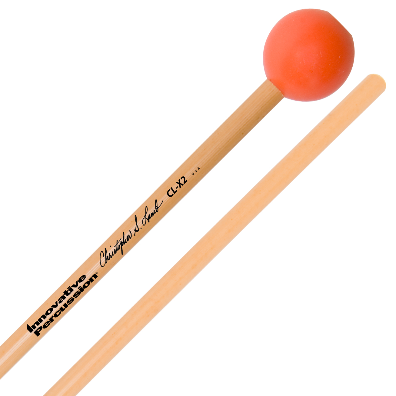 Innovative Percussion Christopher Lamb Orchestral Medium Soft Synthetic Xylophone Mallets