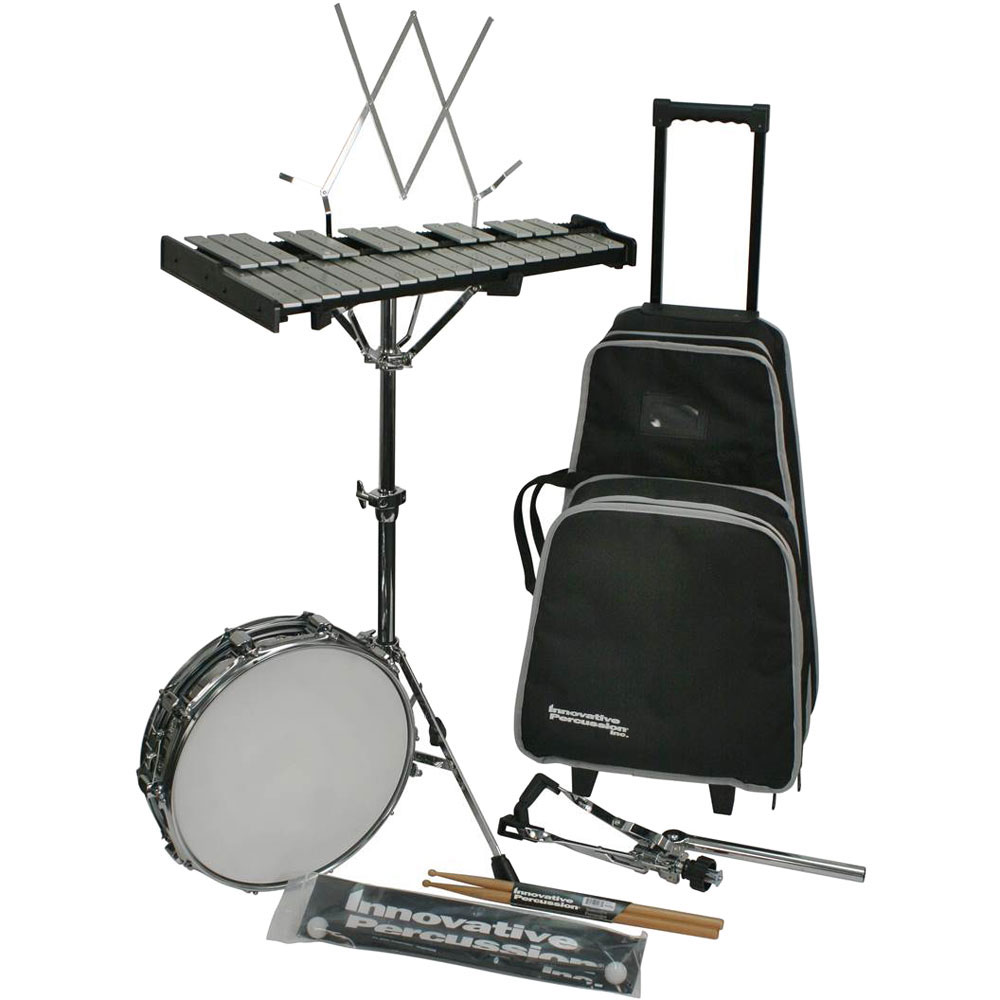 Innovative Percussion Traveler Educational Combination Snare/Bell Percussion Kit