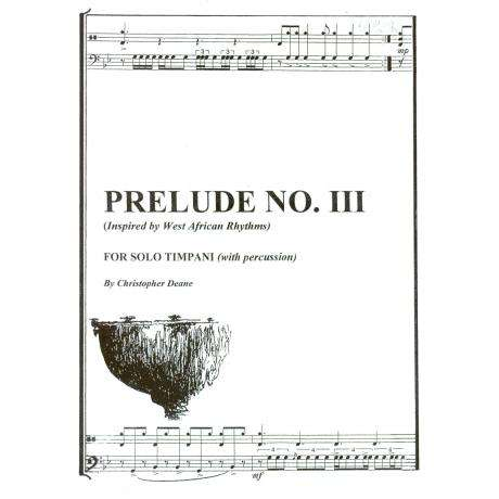 Prelude No. 3 by Christopher Deane
