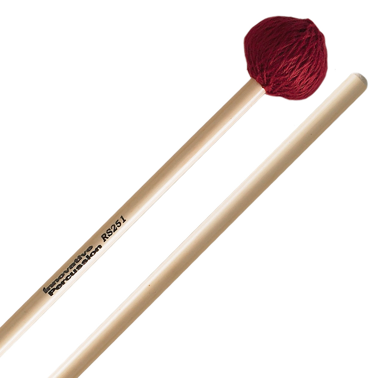 Innovative Percussion Rattan Series Medium Vibraphone/Marimba Mallets