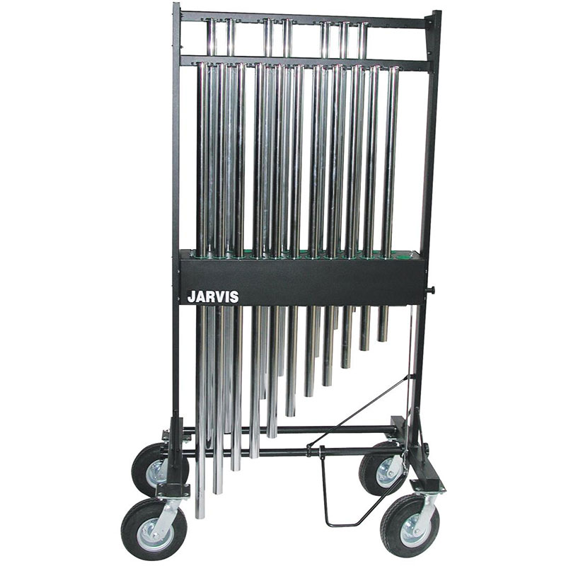 "Jarvis 23 Tube Chime Rack with 8"" Everest Casters (Fits 1.25"" tubes)"