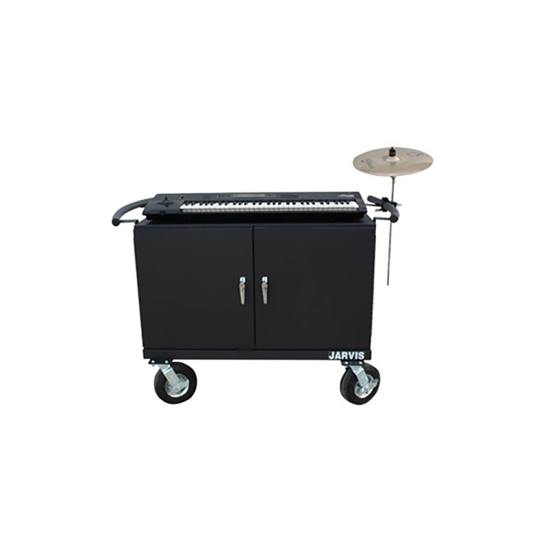 "Jarvis 66"" Cabinet Style Keyboard Mover with 8"" Everest Casters"