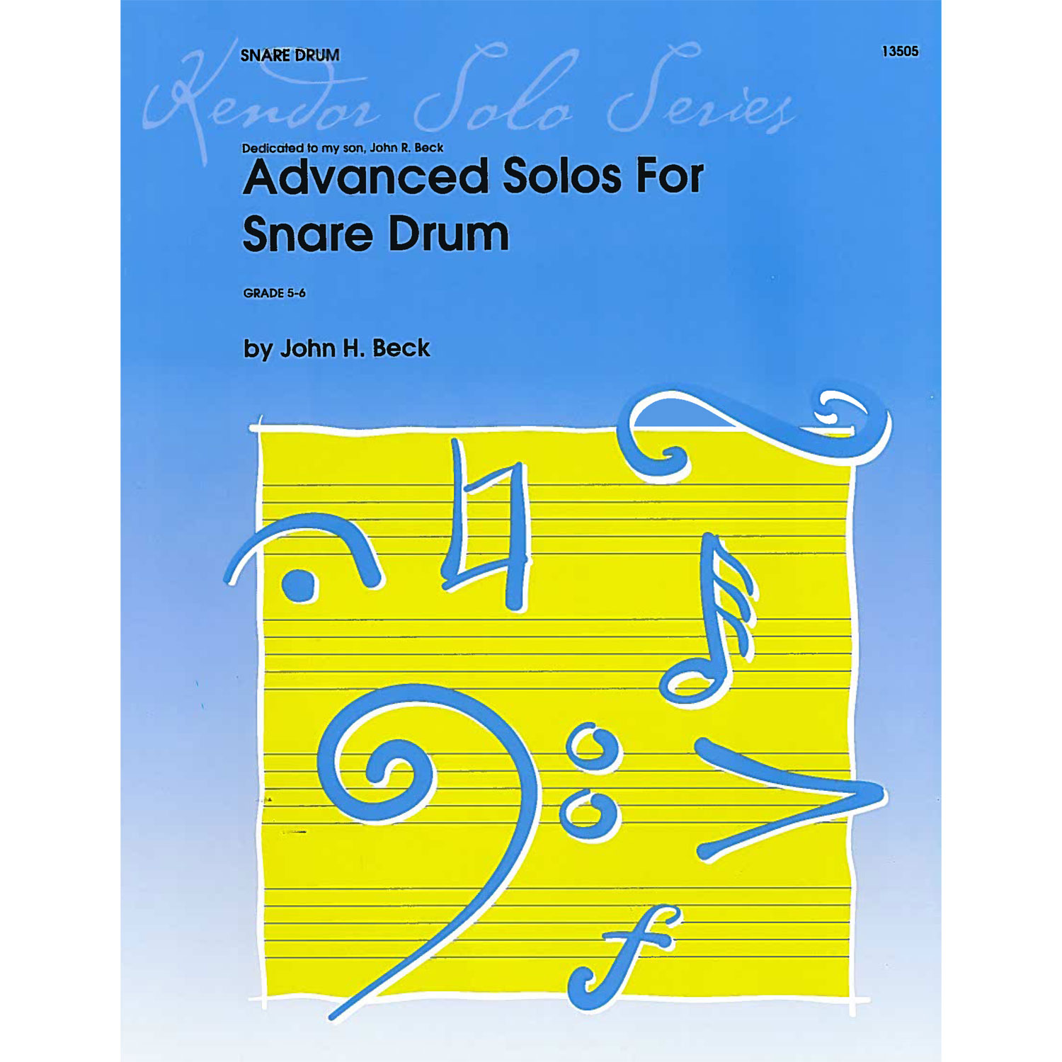 Advanced Solos for Snare Drum by John Beck