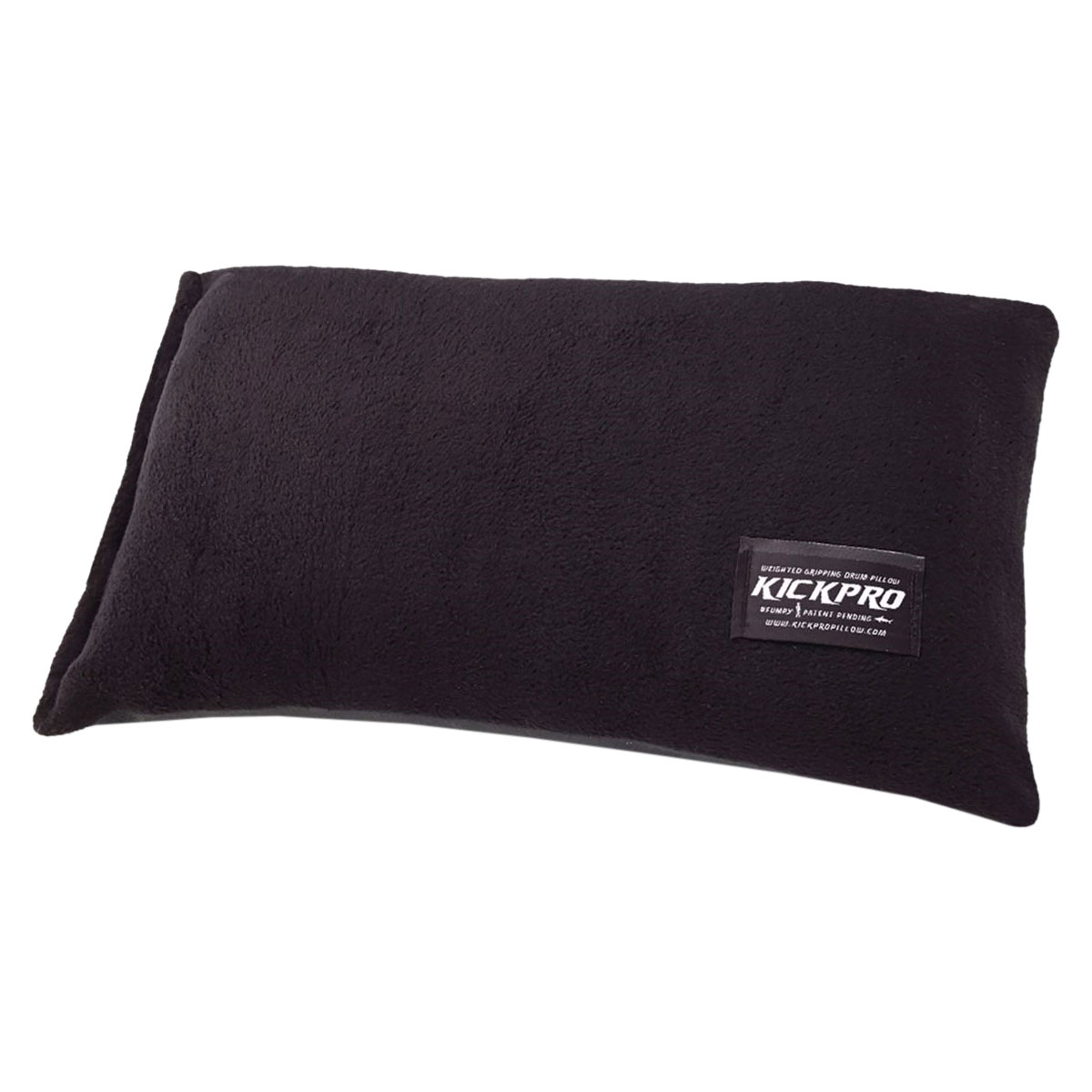 KickPro Weighted Gripping Bass Drum Pillow with Non-Slip Rubberized Bottom