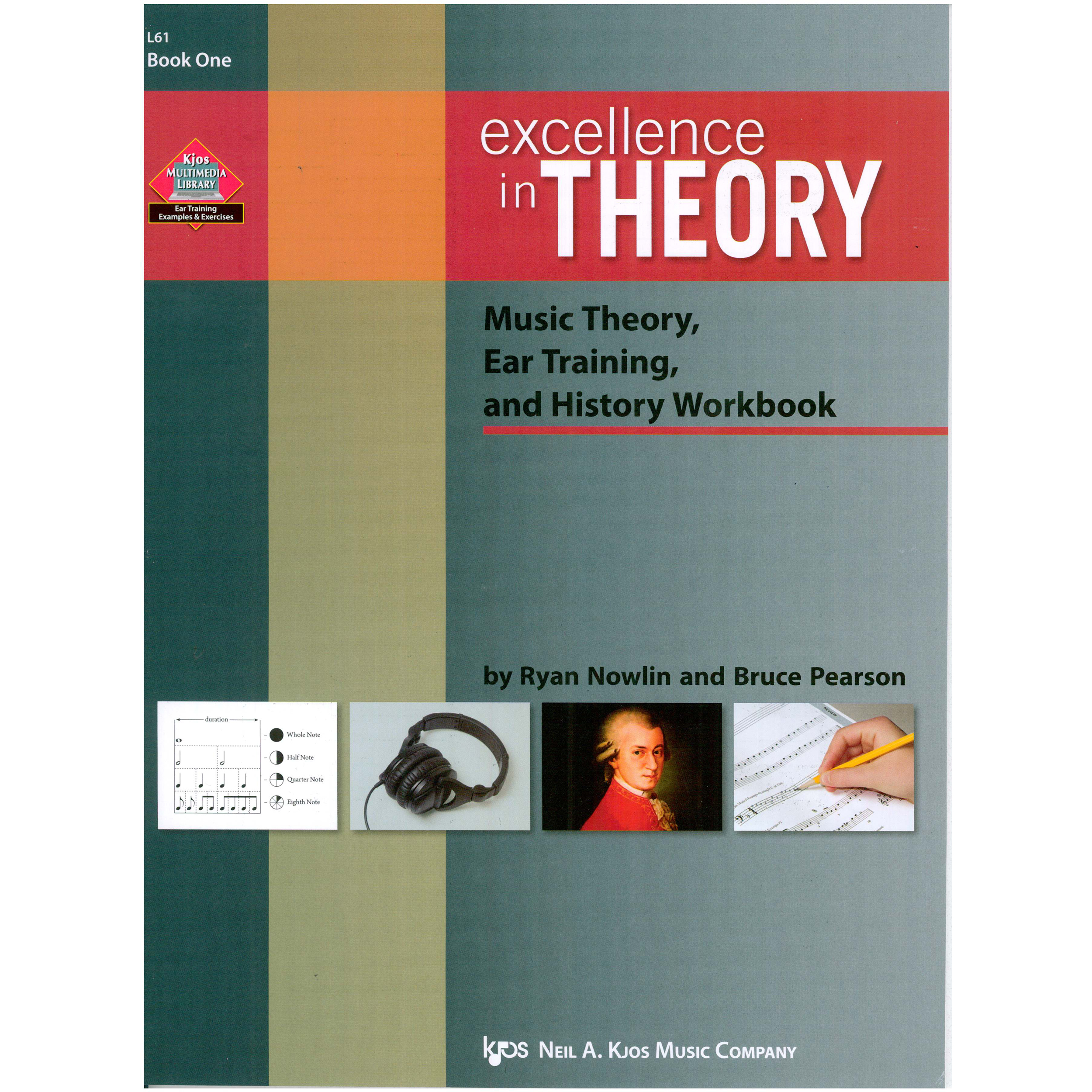Excellence in Theory (Book 1) by Ryan Nowlin and Bruce Pearson