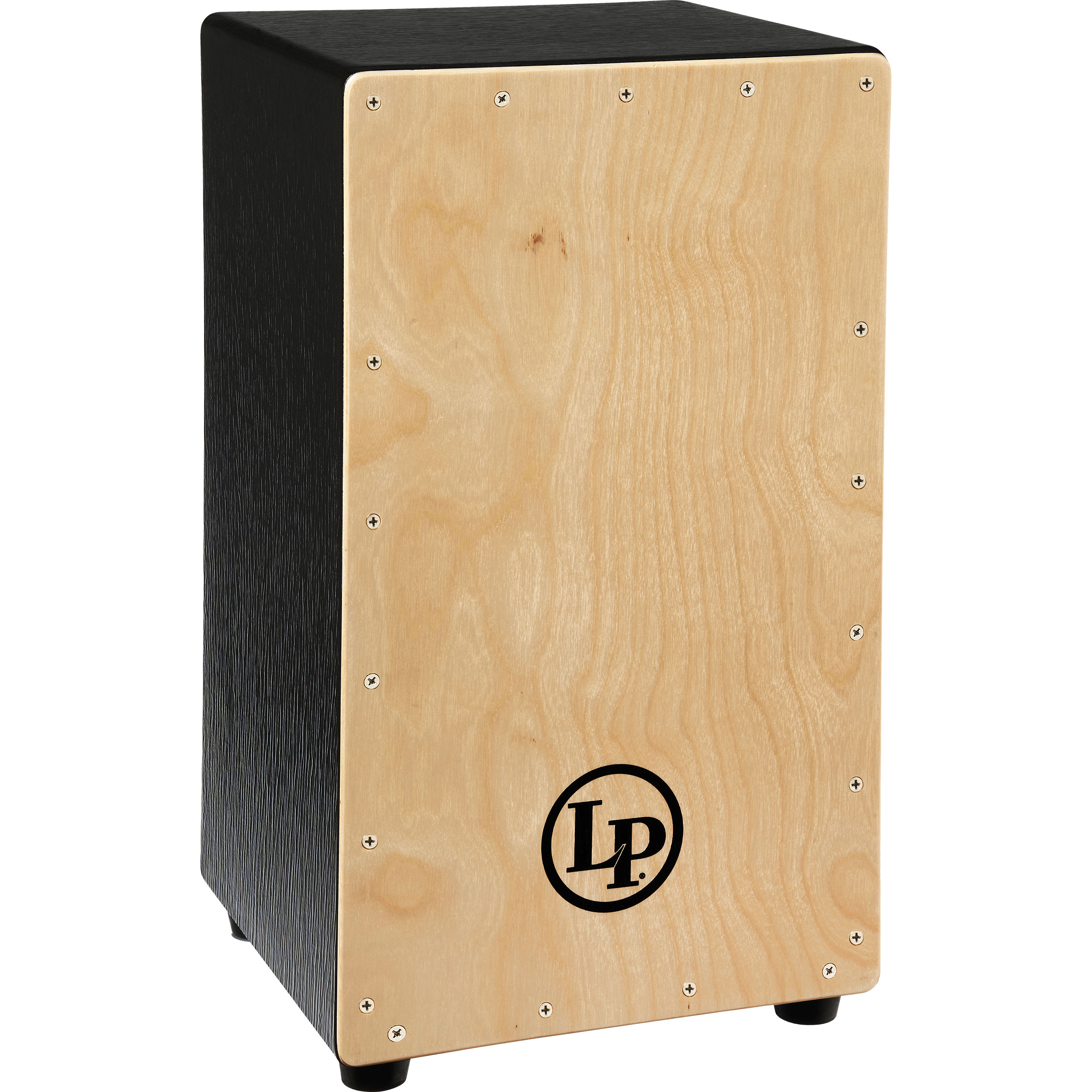LP Black Box Snare Cajon with Natural Faceplate