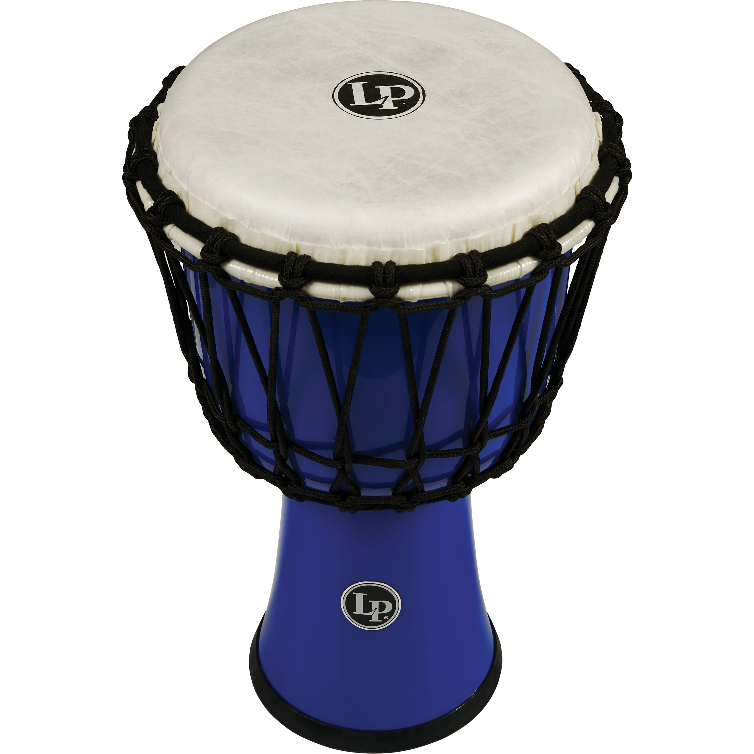 "LP 7"" Rope Tuned Circle Djembe in Blue"