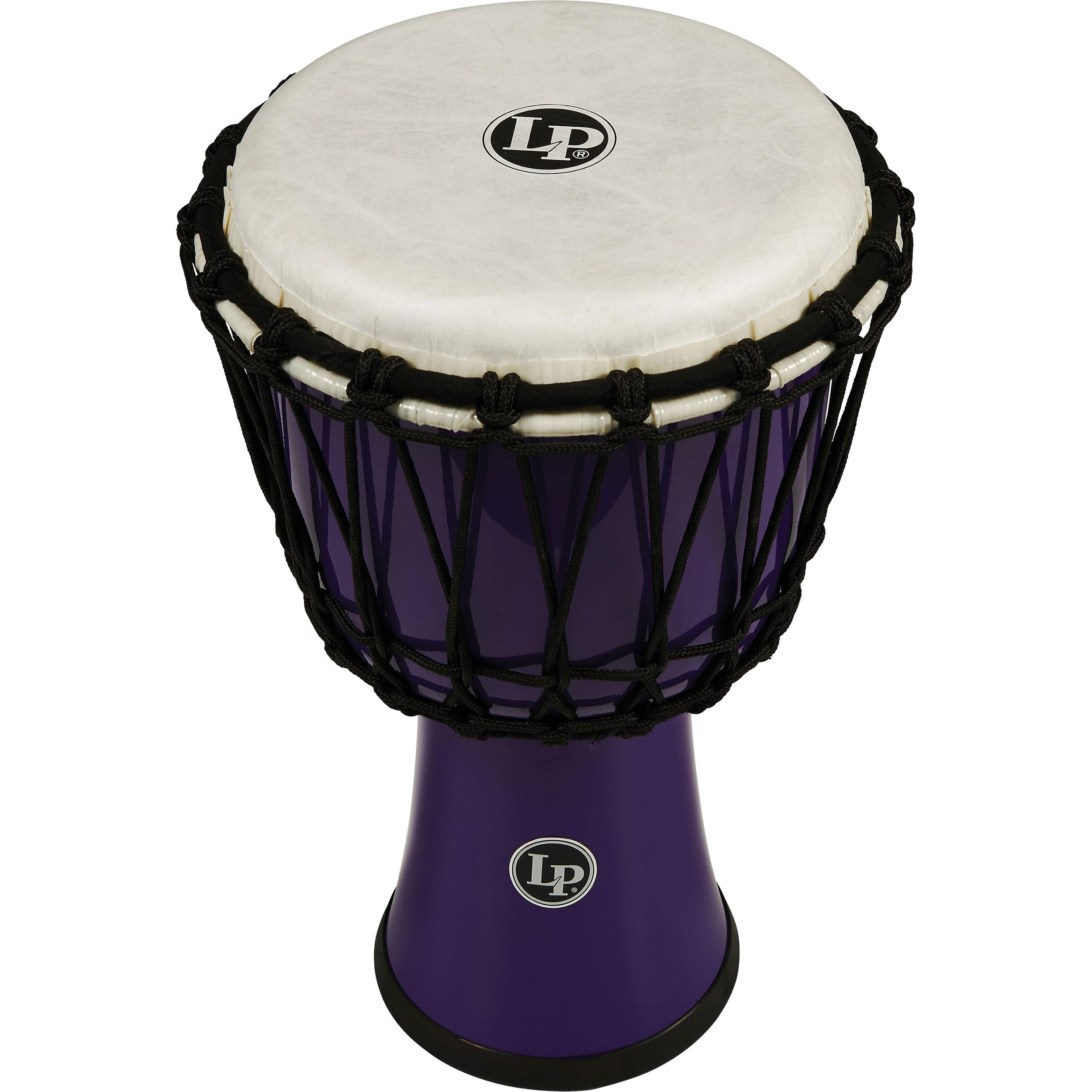 "LP 7"" Rope Tuned Circle Djembe in Purple"