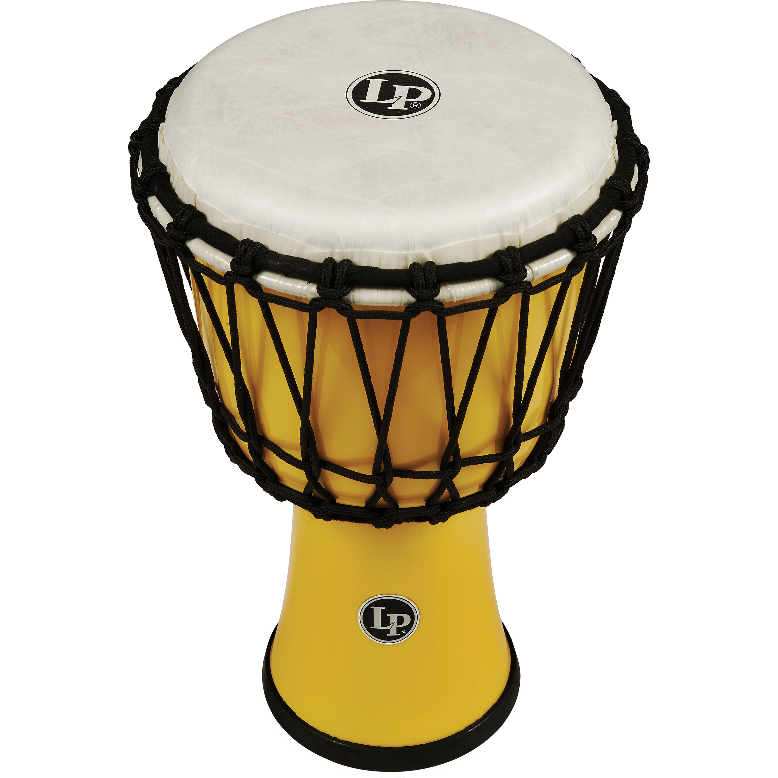 "LP 7"" Rope Tuned Circle Djembe in Yellow"
