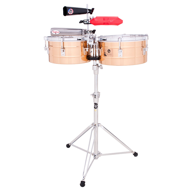 """LP 15/16"""" Tito Puente Bronze Timbales"""