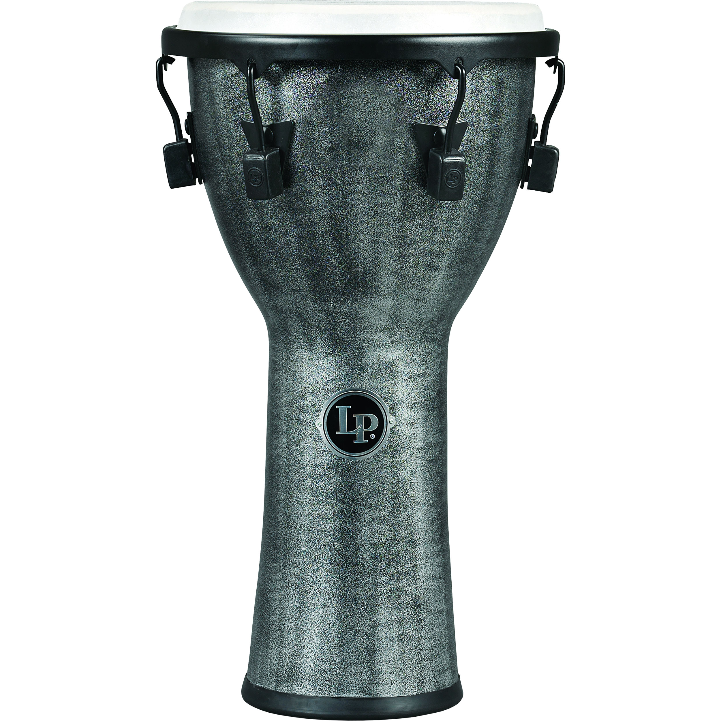 """LP 11"""" FX Mechanically-Tuned Djembe in Gray"""