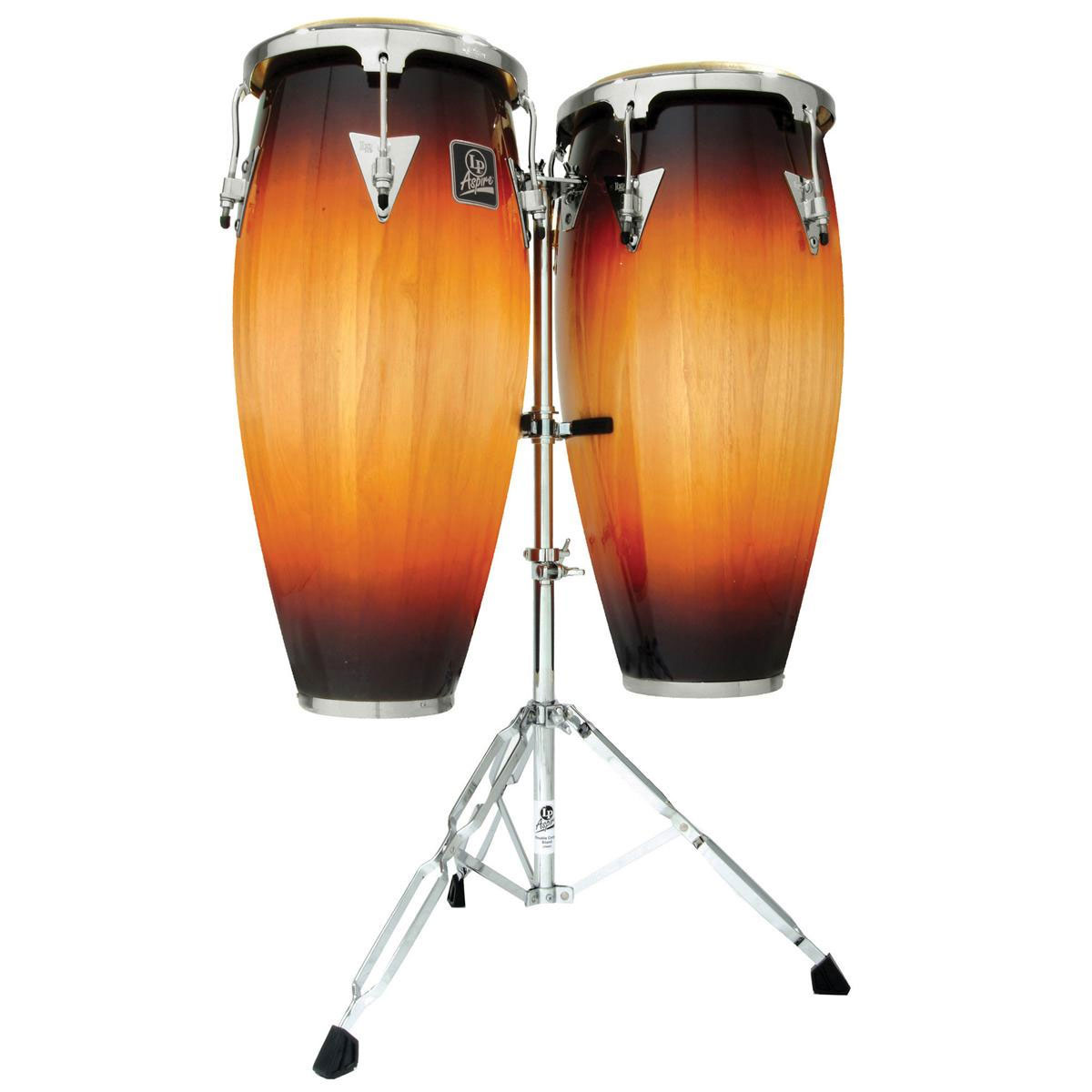 """LP 11"""" & 12"""" Aspire Conga Set with Stand"""