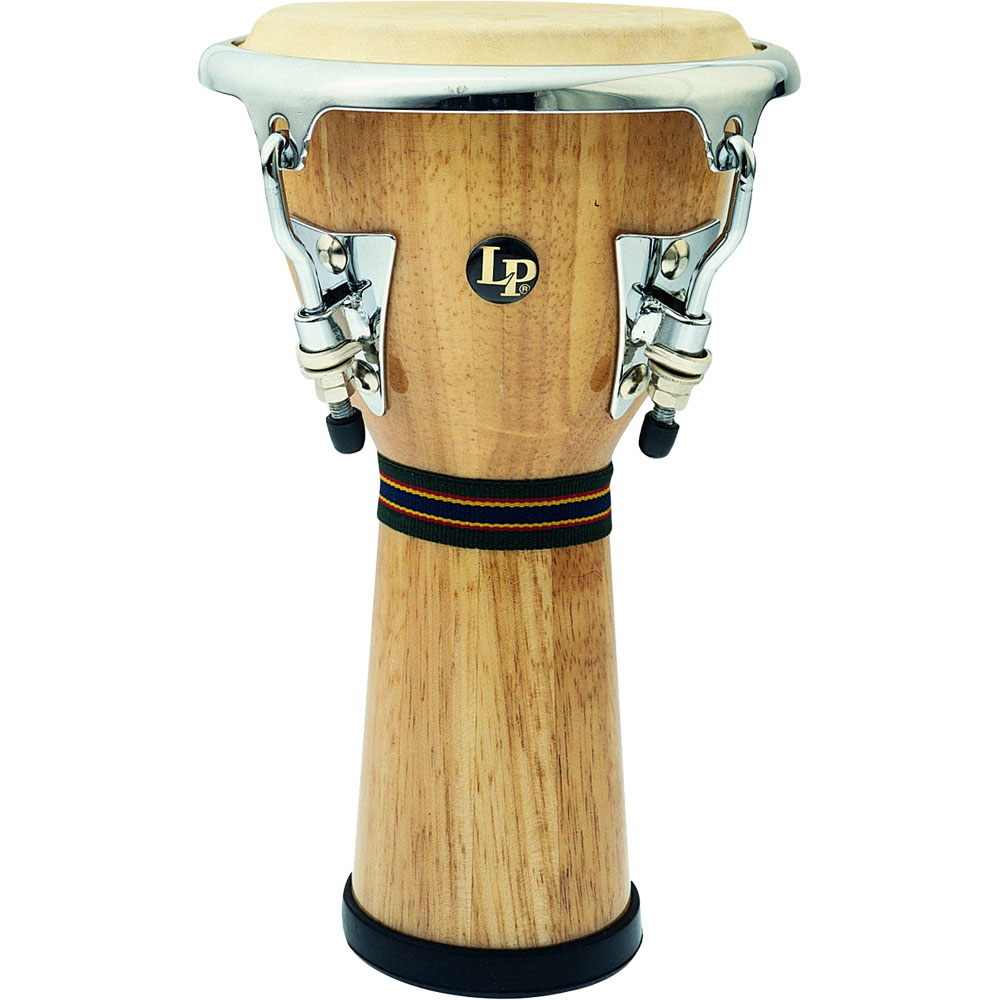 LP Natural Wood Mini Djembe