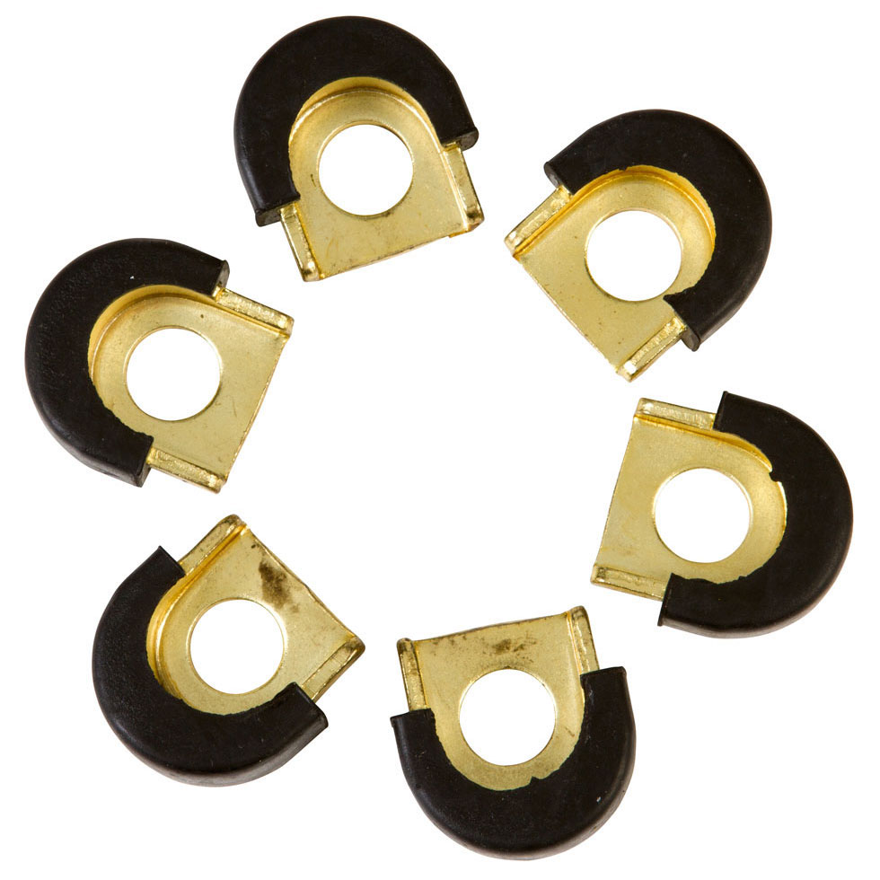 LP ProCare Conga Shell Protectors, 6 Pieces, Gold