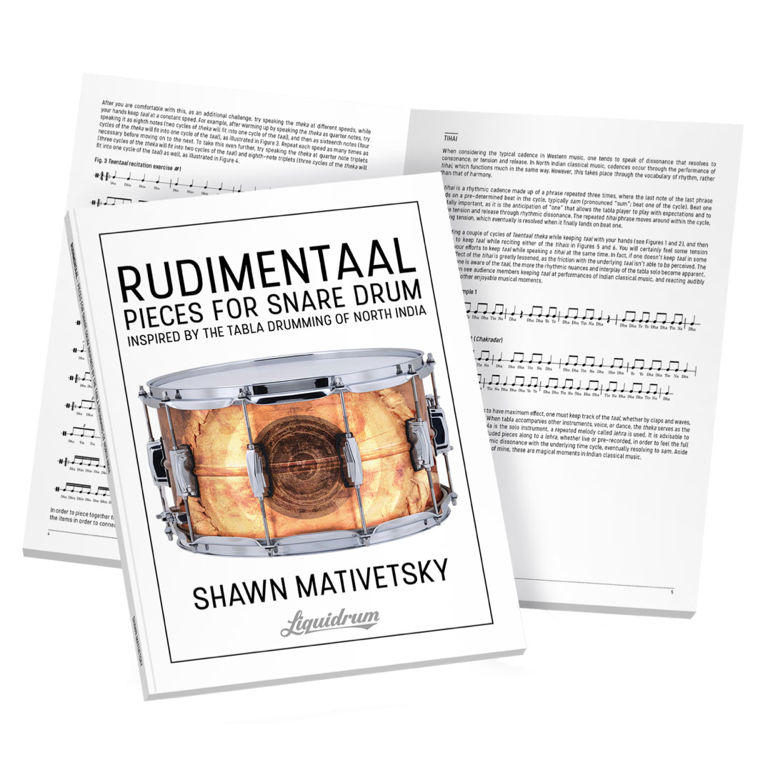 RUDIMENTAAL Pieces for Snare Drum by Shawn Mativetsky
