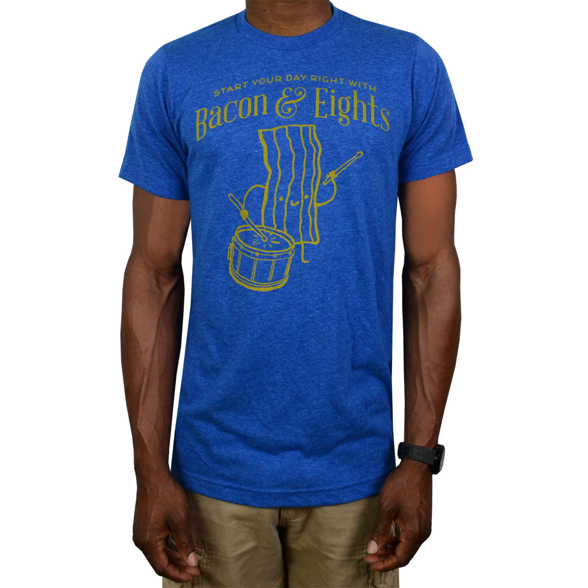 Lone Star Percussion Bacon & Eights Drummer T-Shirt