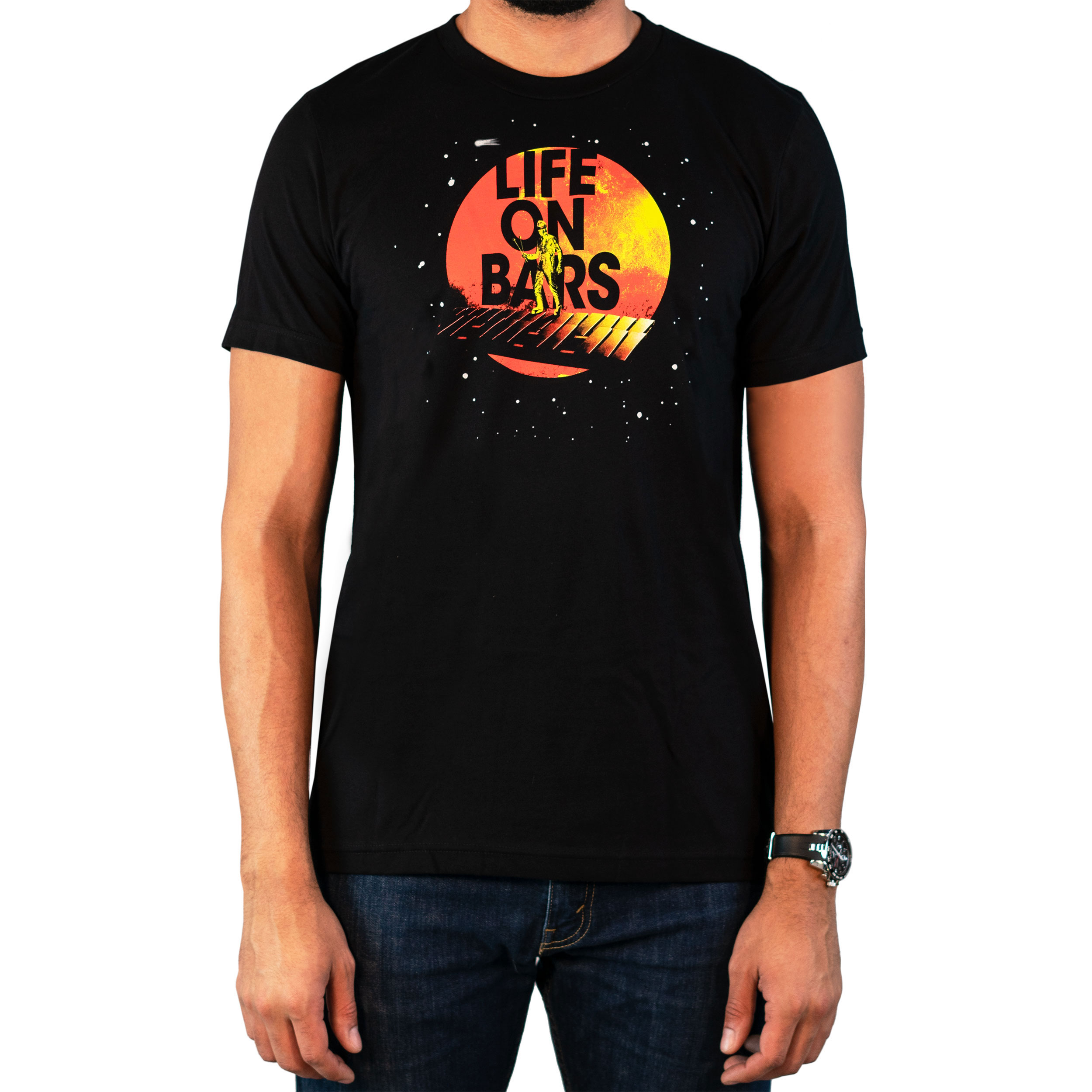 Lone Star Percussion Life on Bars Drummer T-Shirt