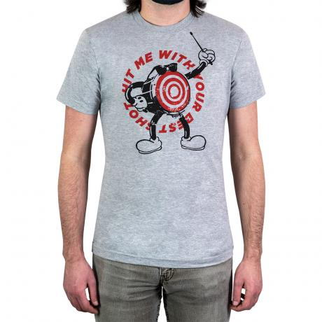 Lone Star Percussion Hit Me With Your Best Shot Drummer T-Shirt