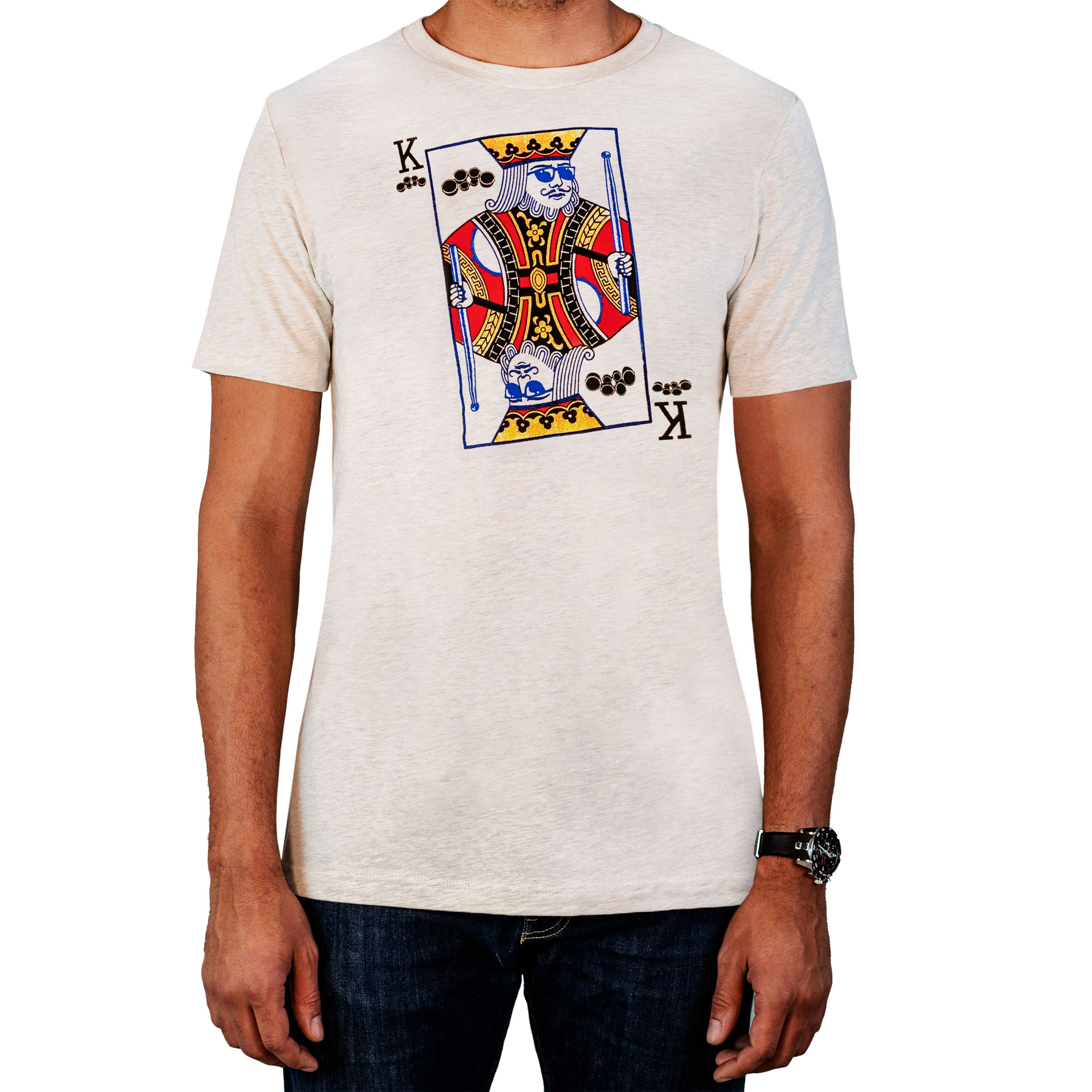 Lone Star Percussion King of Quads Drummer T-Shirt