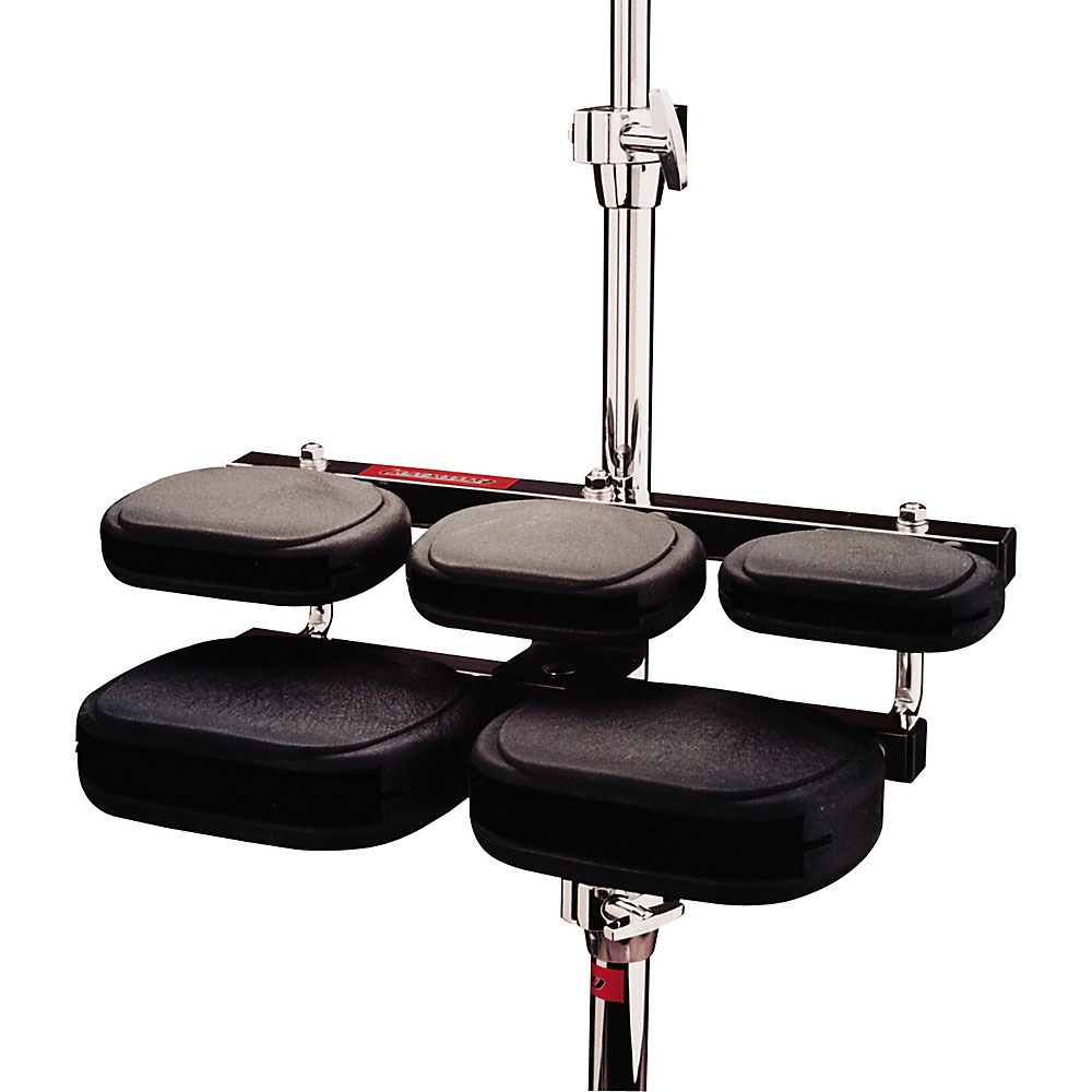 Ludwig 5-Piece Synthetic Temple Blocks with Mount (No Stand)