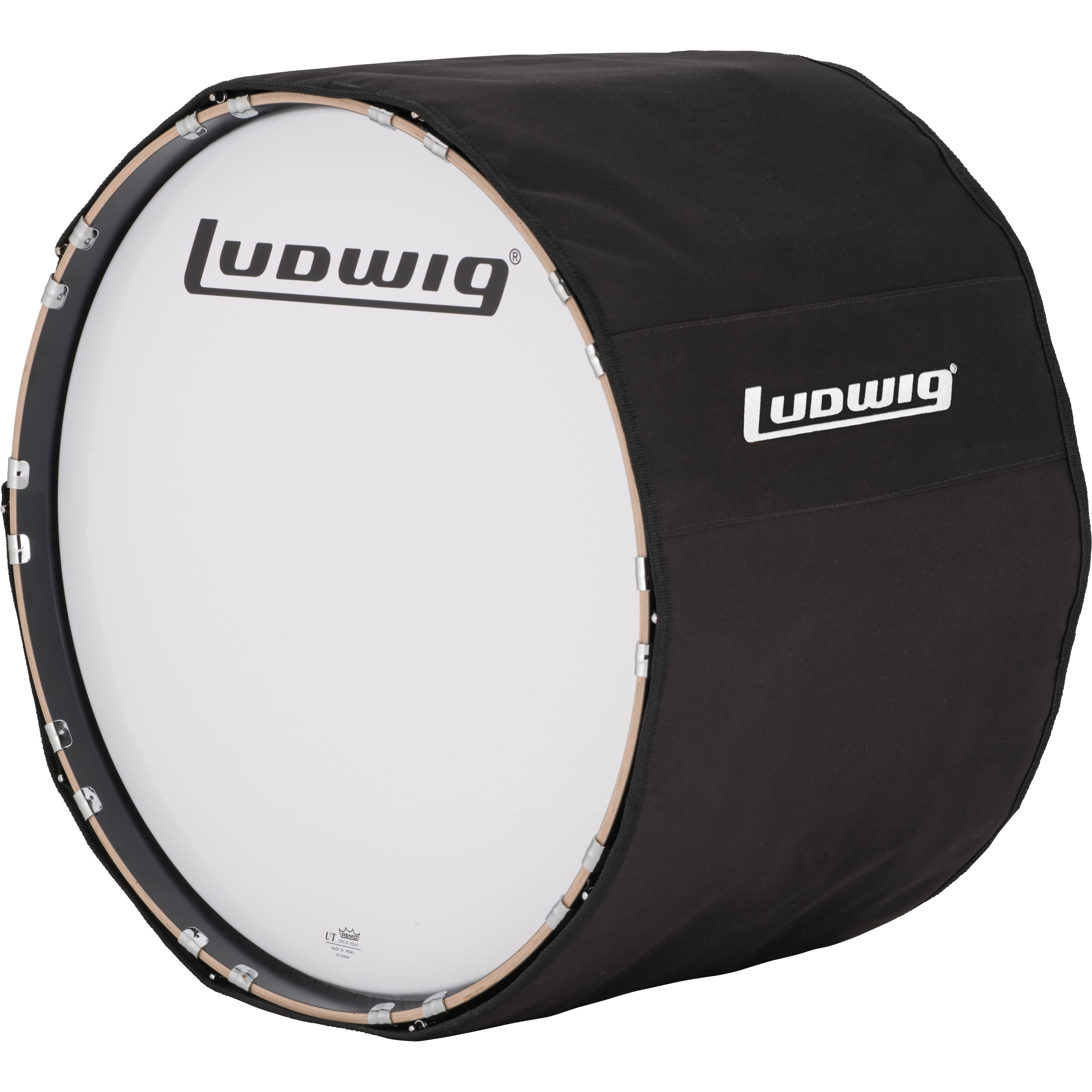 "Ludwig 30"" Marching Bass Drum Cover"