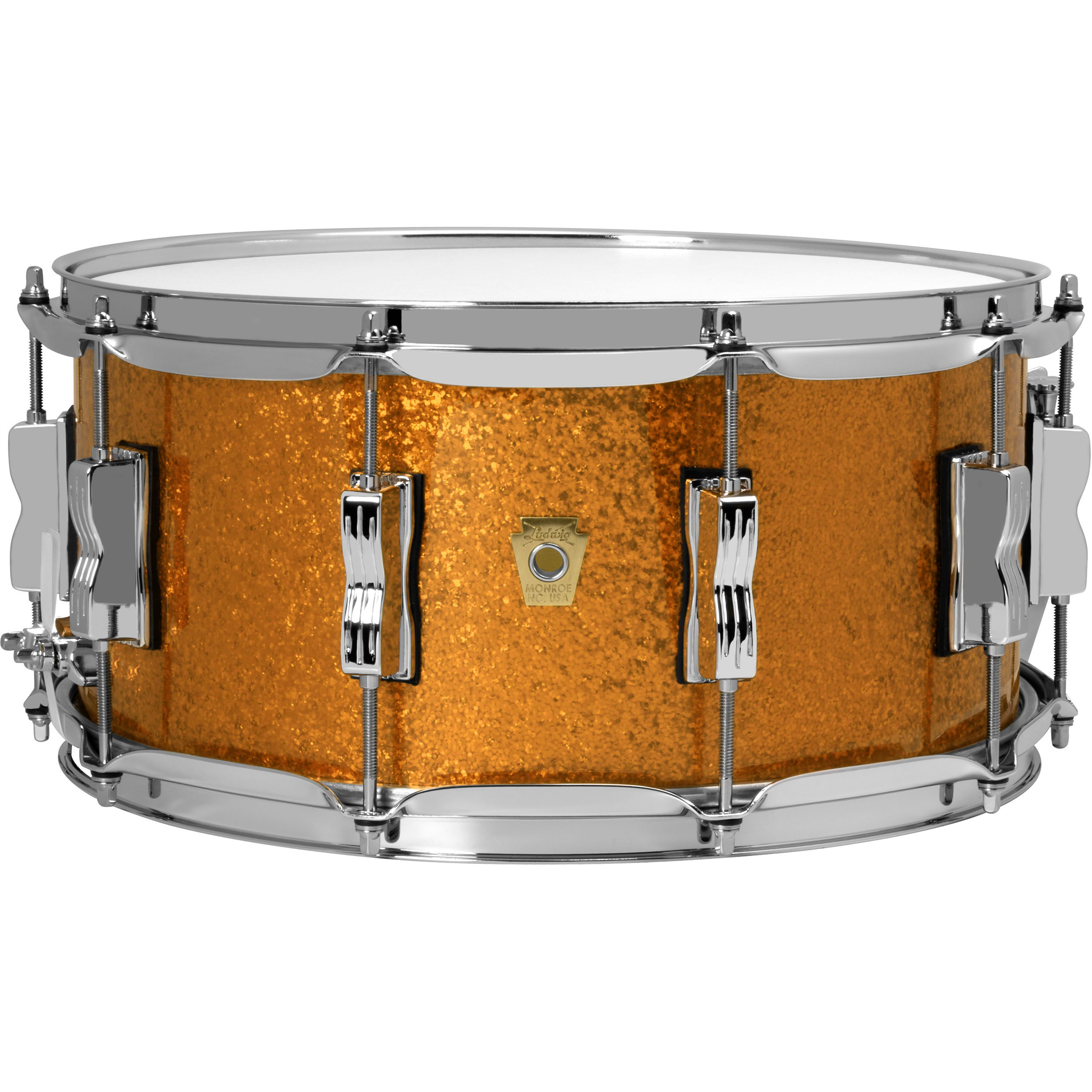"""Ludwig 6.5"""" x 14"""" Classic Maple Snare Drum"""