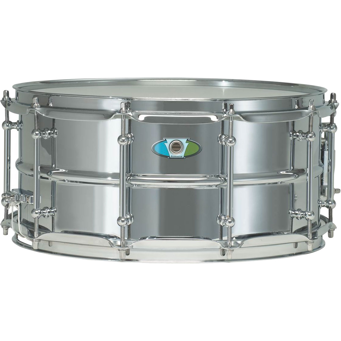 "Ludwig 6.5"" x 14"" Supralite Snare Drum"