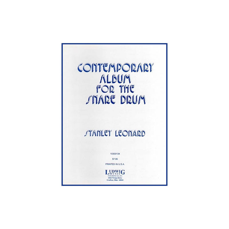 Contemporary Album for the Snare Drum by Stanley Leonard