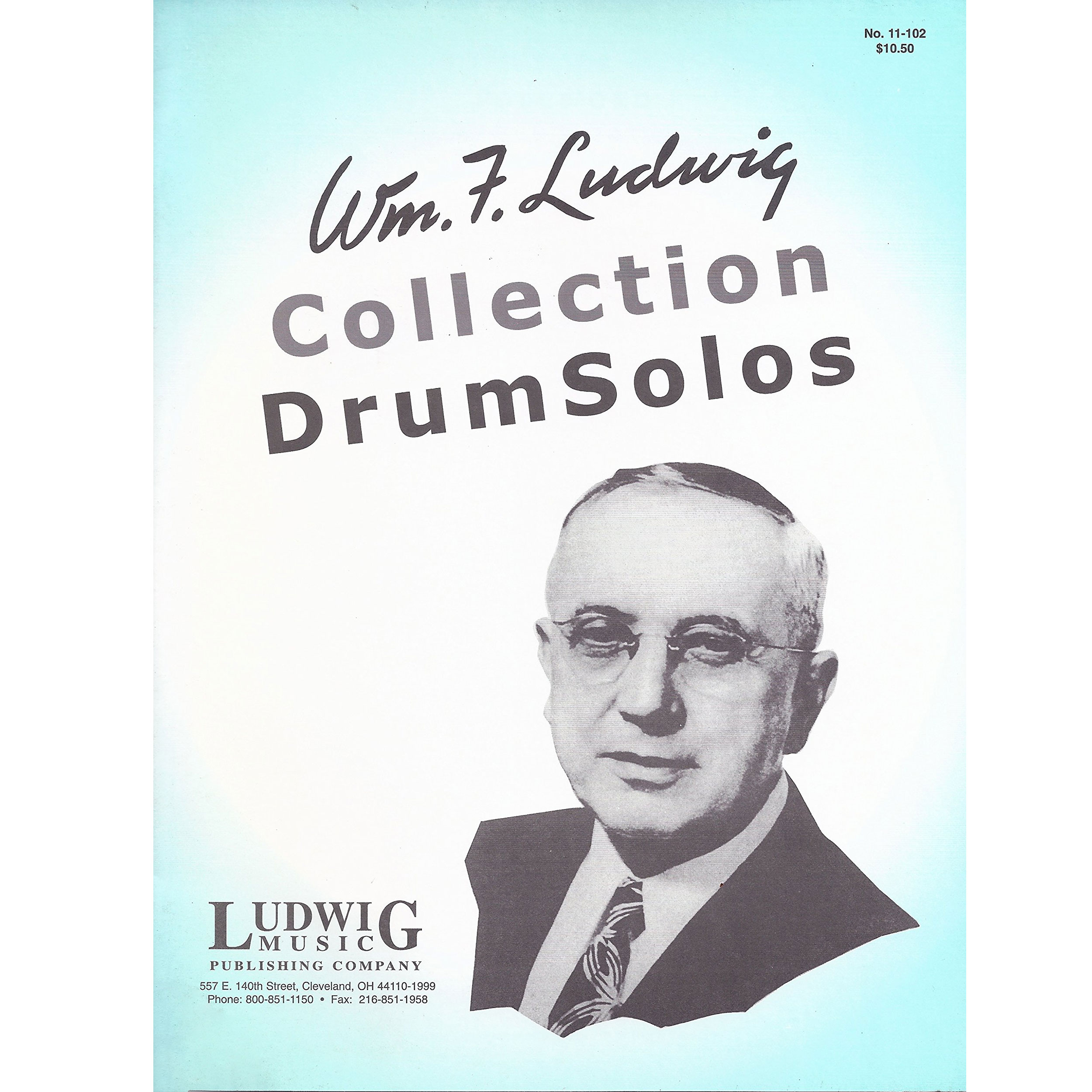 Collection of Drum Solos by William F. Ludwig