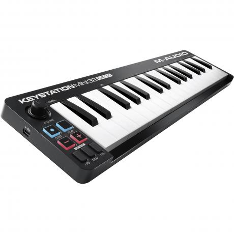 M-Audio 32-Key Keystation Mini USB MIDI Keyboard Controller (MK3)