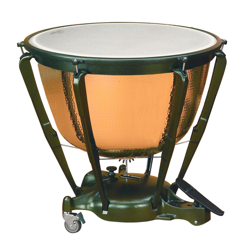 "Majestic 20"" Symphonic Timpani with Precision Hammered Copper Bowl"