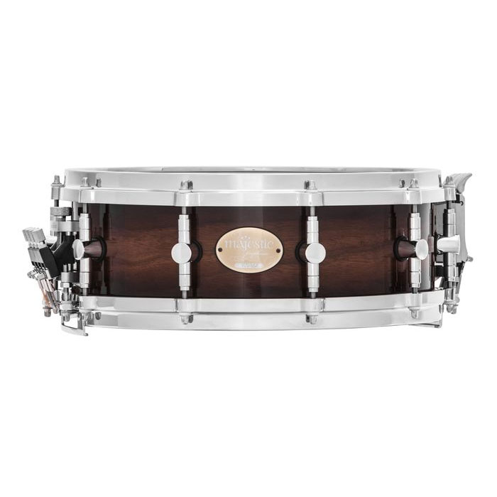 "Majestic 14"" x 5"" Prophonic Walnut Concert Snare Drum"