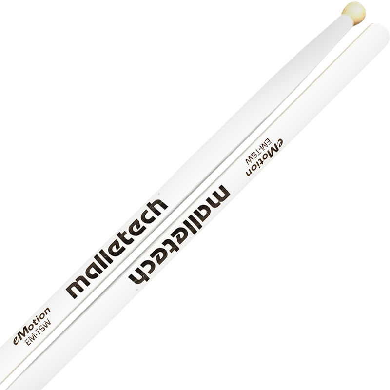 Malletech eMotion Series EM-TSW Marching Tenor Sticks with Wood Tips