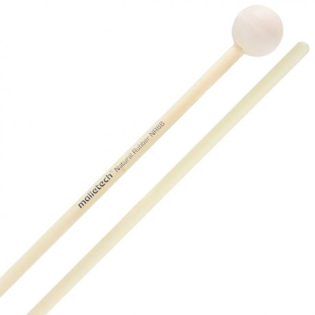 Malletech Natural Rubber Soft Xylophone Mallets with Birch Shafts