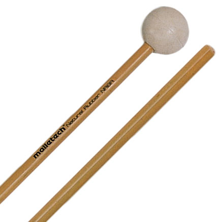 Malletech Natural Rubber Soft Xylophone Mallets with Rattan Shafts