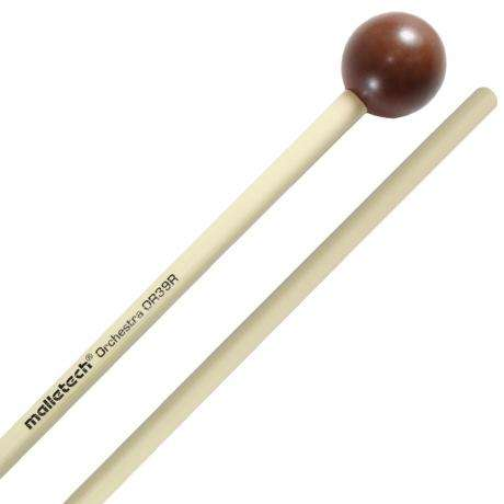 Malletech Orchestra Series Lightweight Xylophone Mallets with Rattan Shafts
