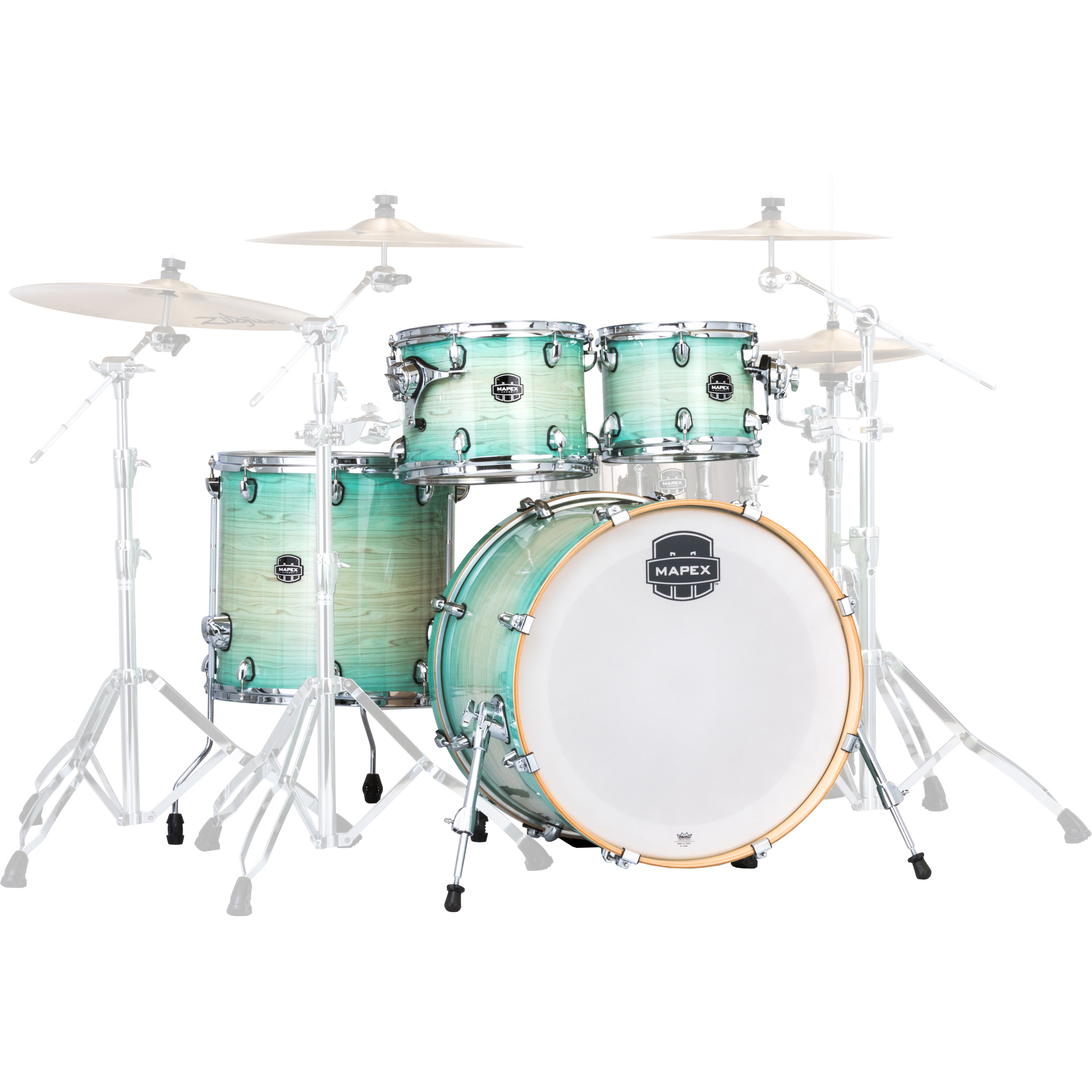 """Mapex Armory 5-Piece Fusion Drum Set Shell Pack (20"""" Bass, 10/12/14"""" Toms, 14"""" Snare)"""