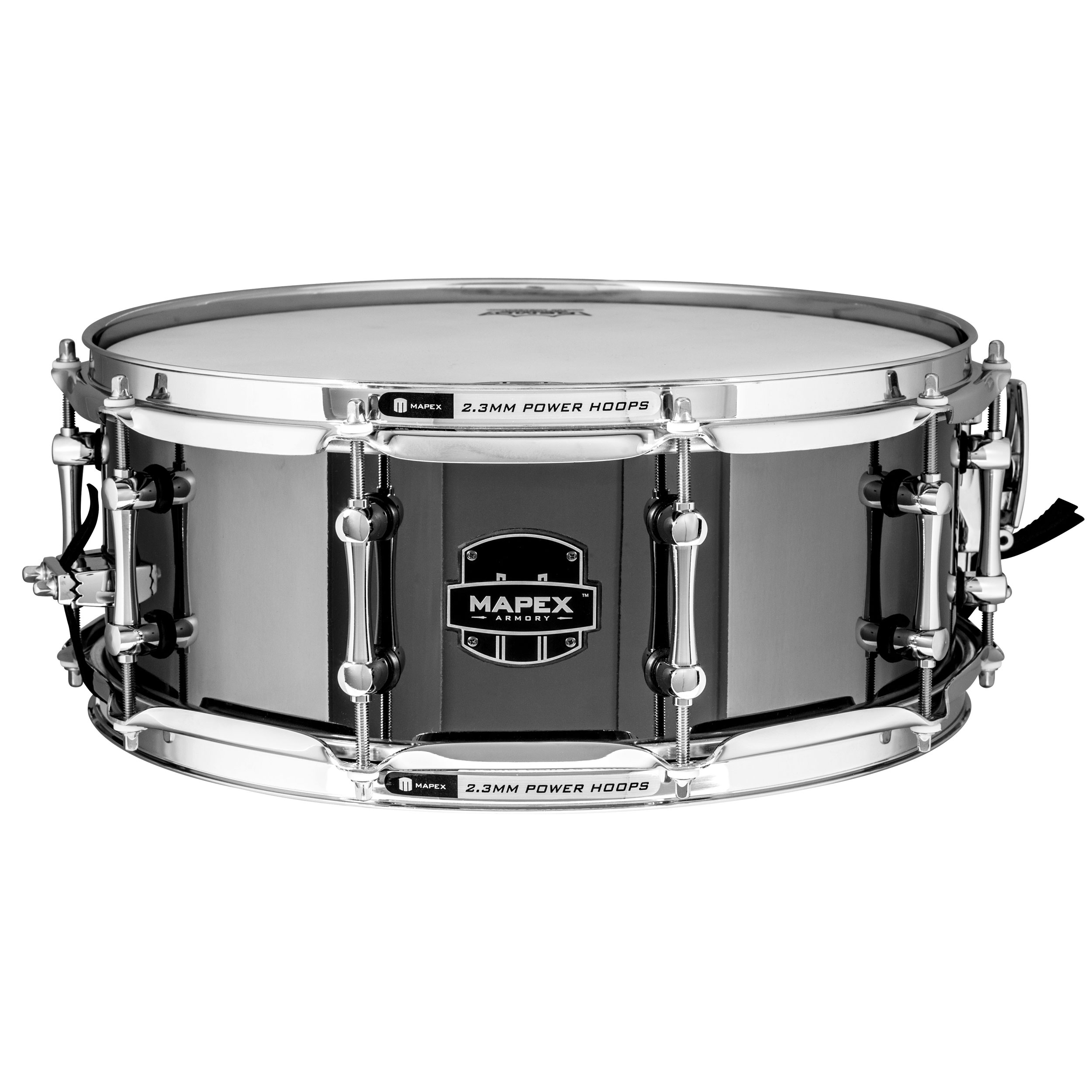 "Mapex 5.5"" x 14"" Armory Tomahawk Steel Snare Drum"