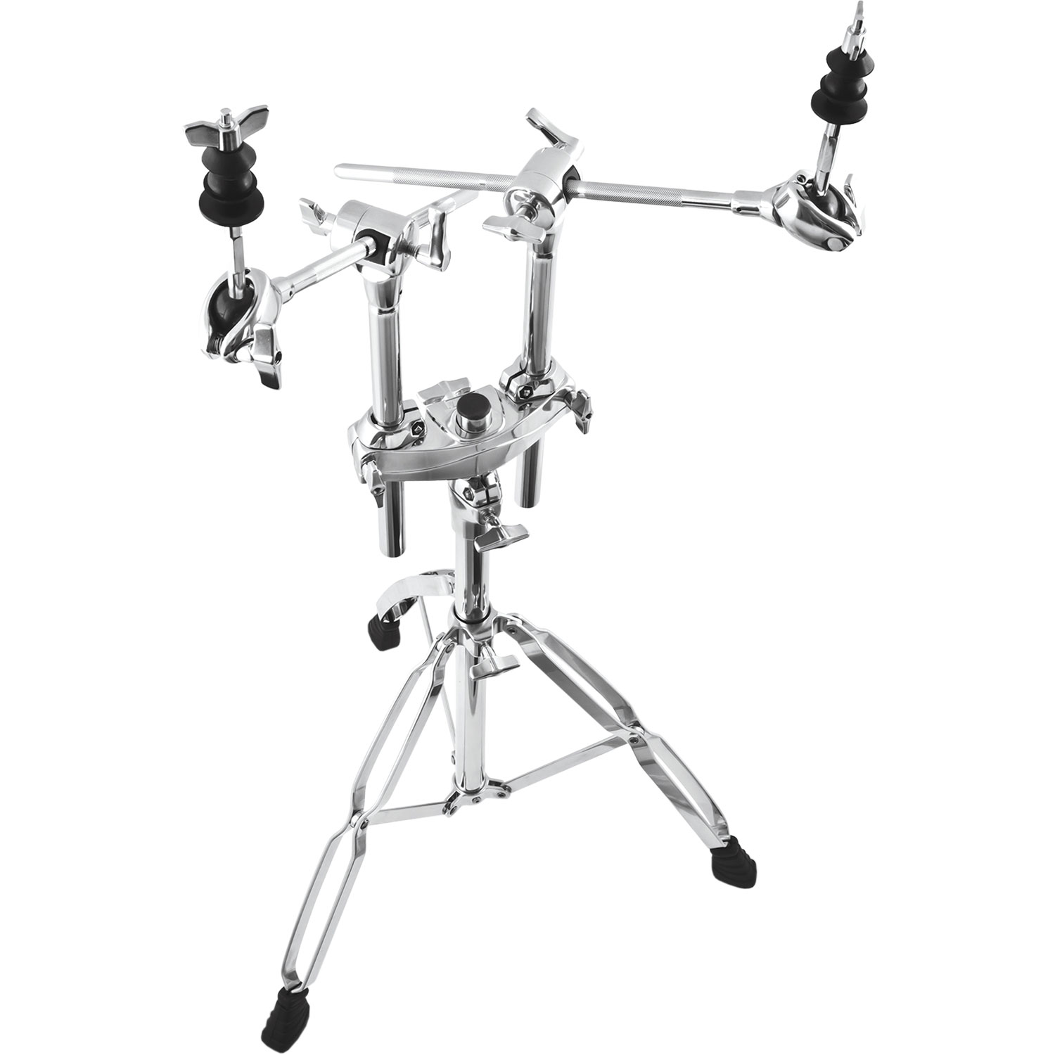 Mapex Mapex B990A Double Braced 2-Tier Chrome Double Boom Stand
