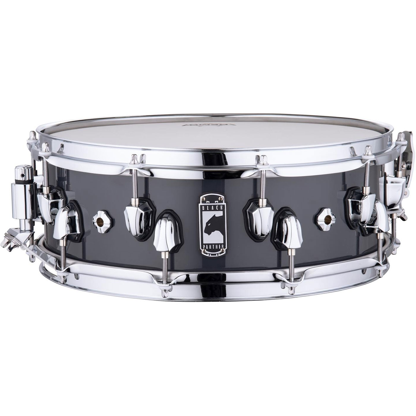 """Mapex 14"""" x 5"""" Black Panther """"Razor"""" 6-Ply Maple Snare Drum"""